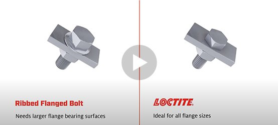 LOCTITE vs Ribbed Flanged Bolt
